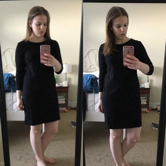 Black dress old navy number